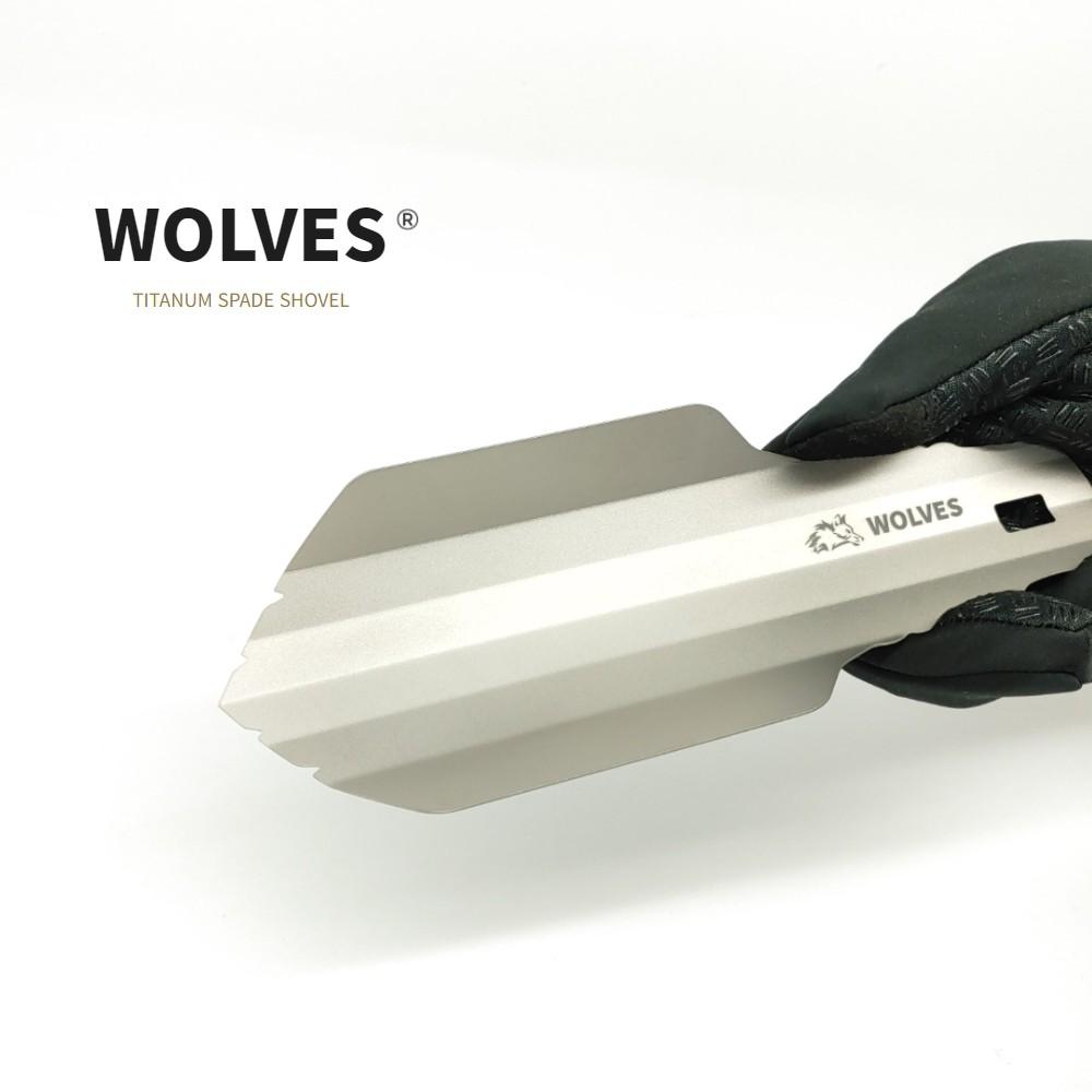 고품질 티타늄 0.7MM굵기 32G 초경량 WOLVES 타이탄32 생존삽