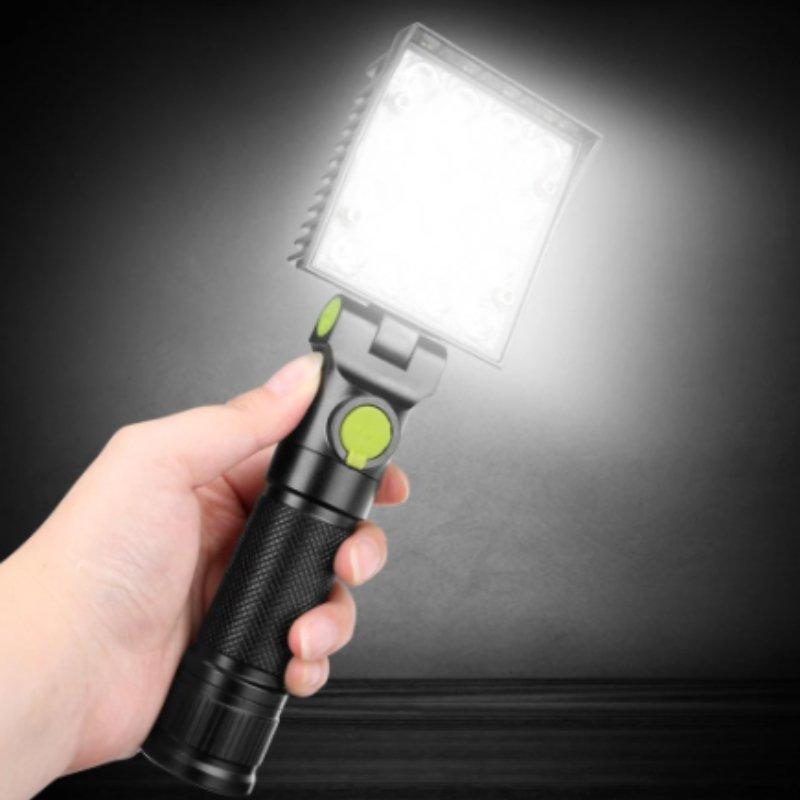 자바라기능+후크 16LED 4모드 RGB기능 4M16 LED작업등 (본품)